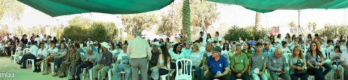 טכס יום הזיכרון 2018 בביר עסלוג ורביבים